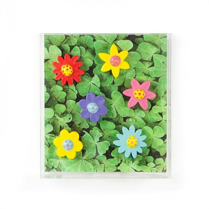 Magnet - FLOWER (6 buc/set) 1