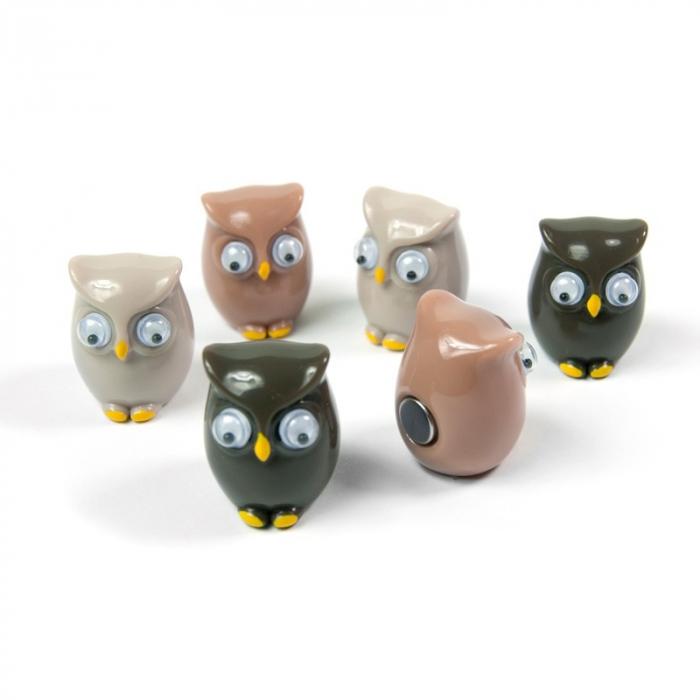 Magnet - OWL (6 buc/set) 0