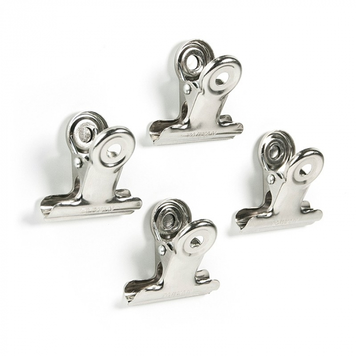 Magnet utilitar - CLIP GRAFFA CHROME (4 buc/set) 0