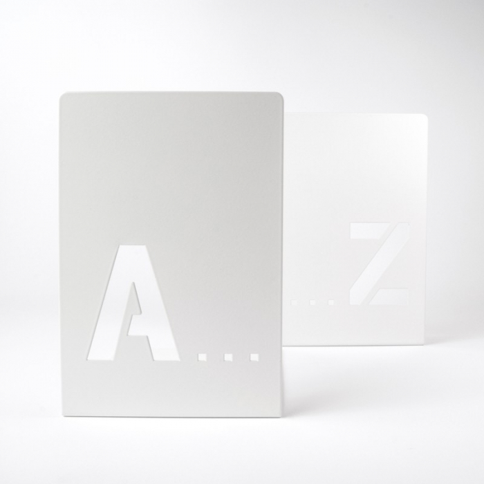 Bookend A-Z (2 buc/set) 0