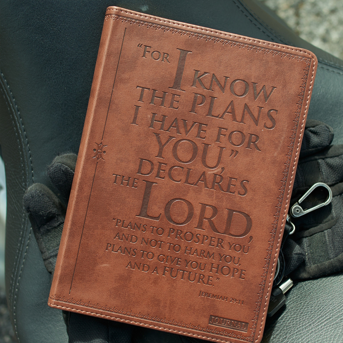 Jurnal din piele - I know the Plans - Jeremiah 29:11