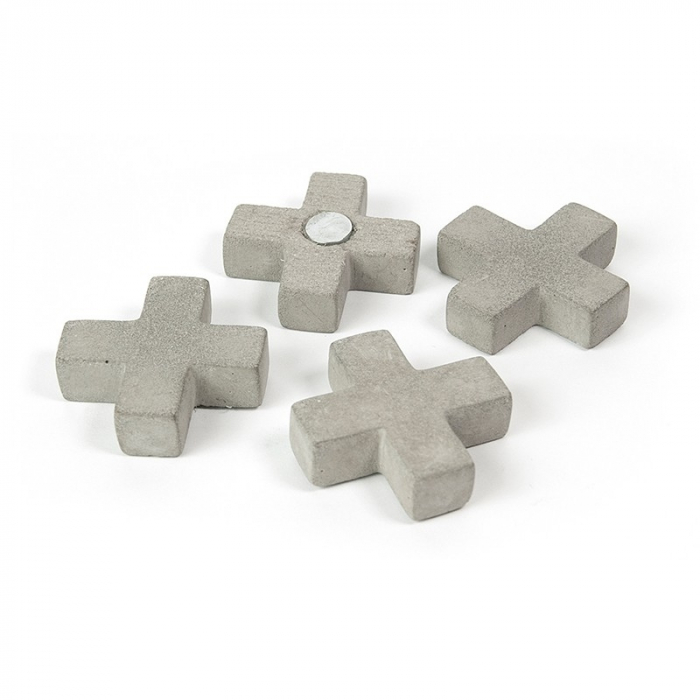 Magneti - cruce ciment - CONCRETE CROSS (4 buc/set) 0
