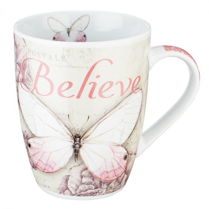 Cana - Butterfly Believe in Pink  - Mark 9:23