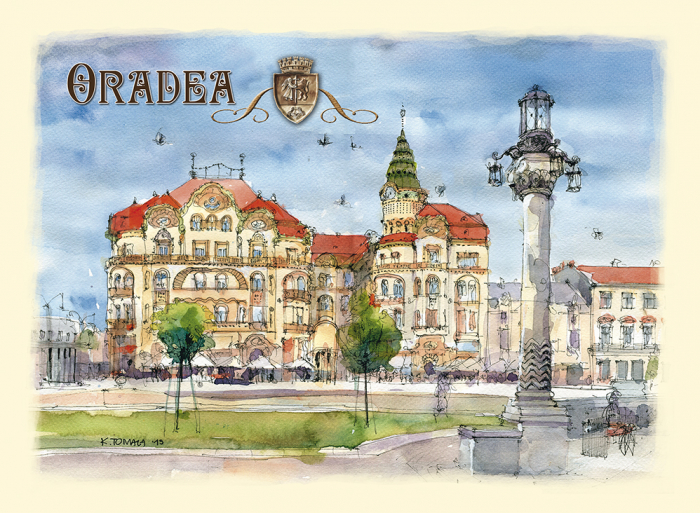 Carte postala Oradea 1 0