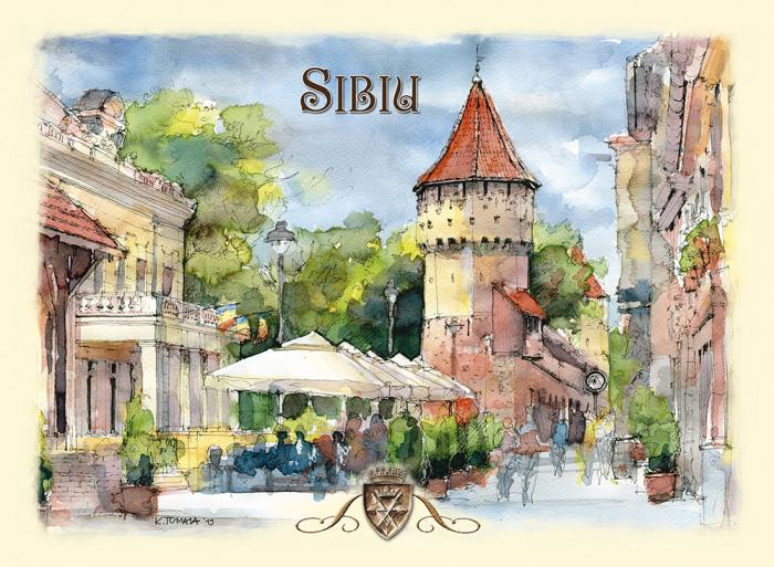 Carte postala Sibiu 1 0