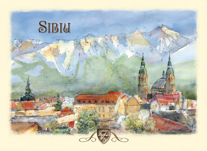 Carte postala Sibiu 2 0