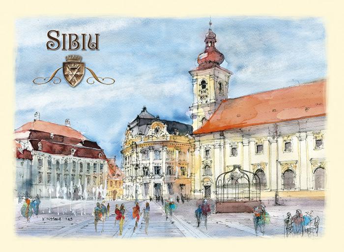 Carte postala Sibiu 3 0