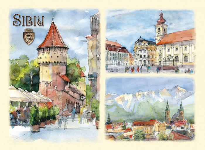 Carte postala Sibiu 4 0