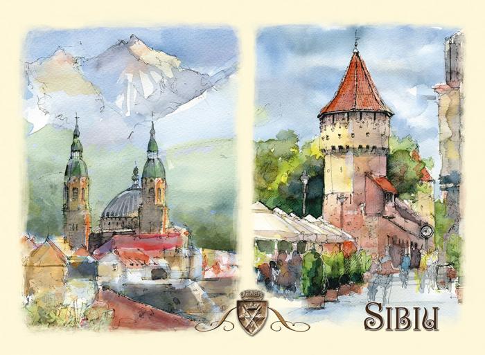 Carte postala Sibiu 6 0