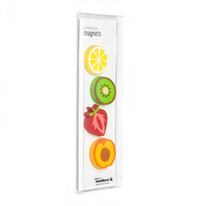 Magnet - fructe - FRUITS (4 buc/set) - TrendForm 1
