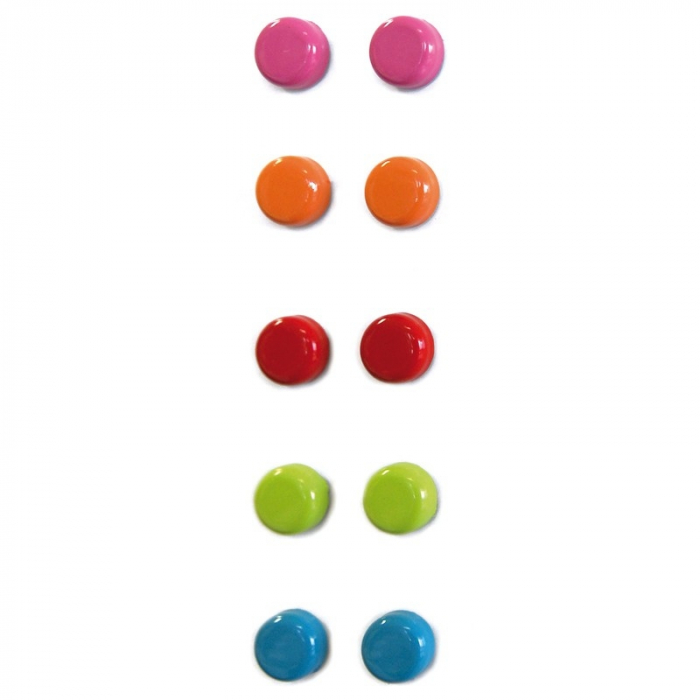 Magnet - STEELY COLOR (10 buc/set) 0