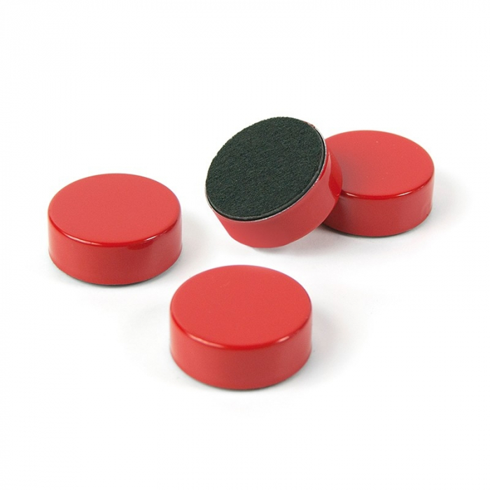 Magnet - rosu - RED (4 buc/set) 0