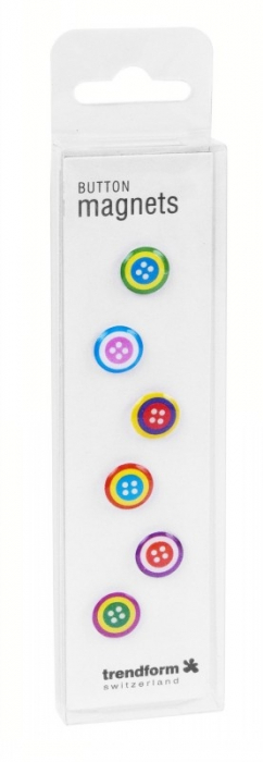 Magnet - nasturi - BUTTON (6 buc/set) 1