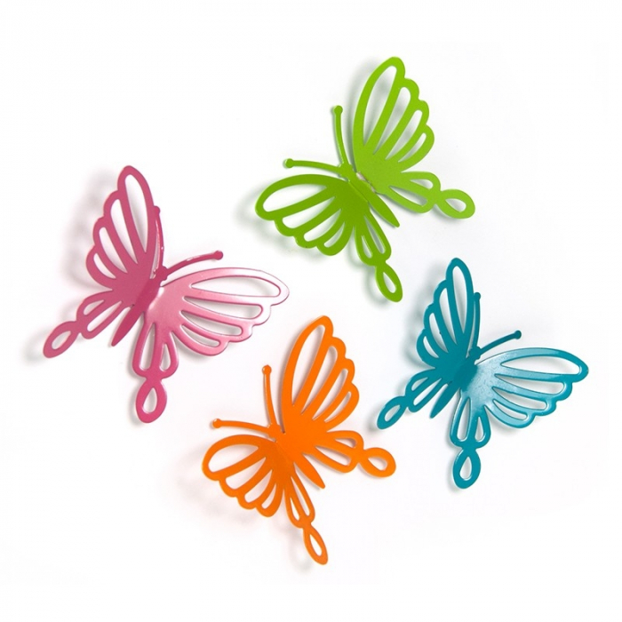 Magnet - BUTTERFLY FILIGREE (4 buc/set) 0