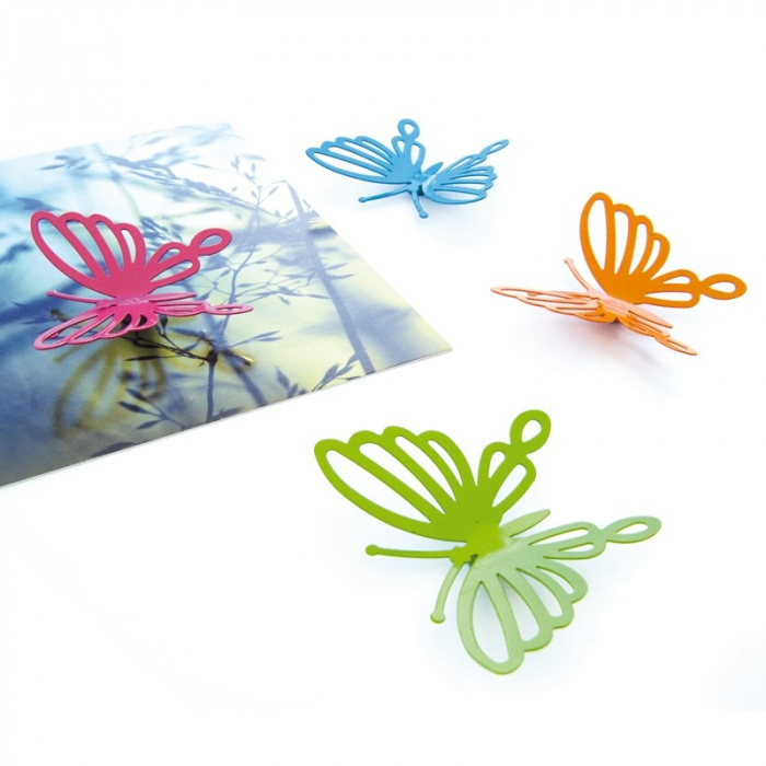 Magnet - BUTTERFLY FILIGREE (4 buc/set) 1