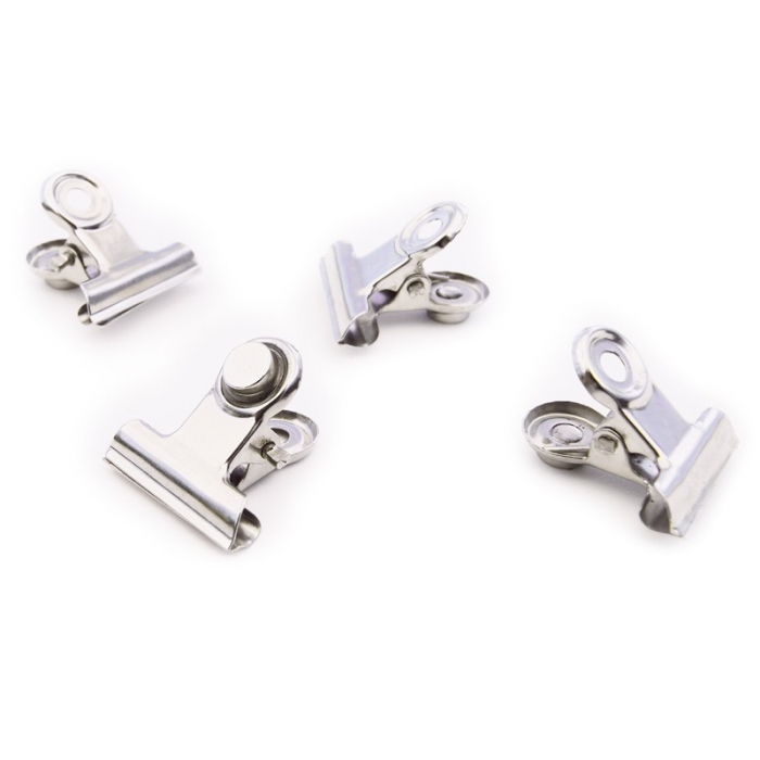 Magnet - CLIP MINI-GRAFFA CHROME (4 buc/set) 0