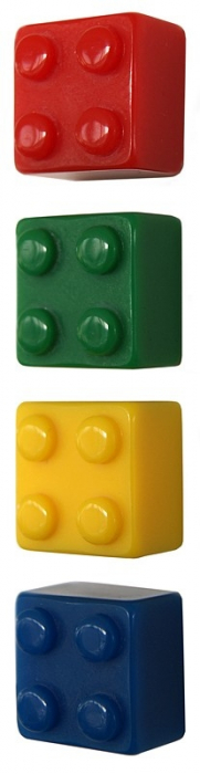 Magnet - BRICK (4 buc/set) 1