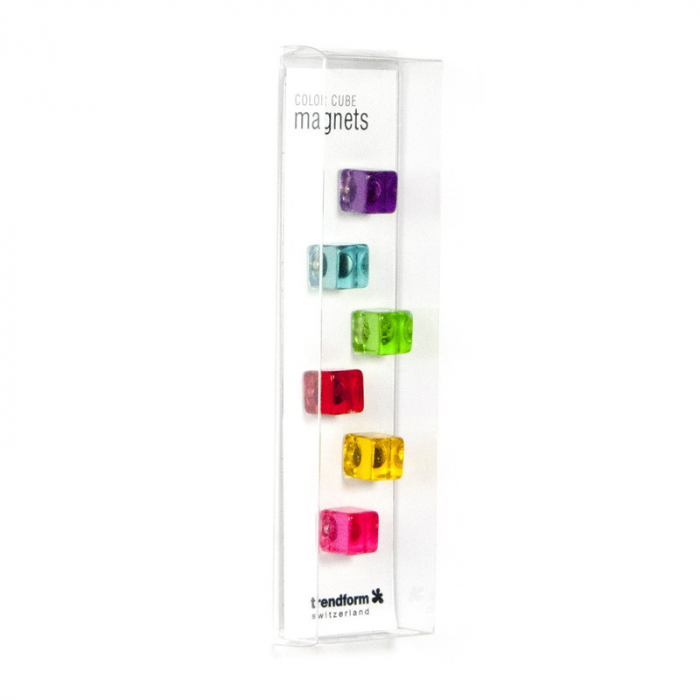 Magnet - COLOR CUBE (6 buc/set)