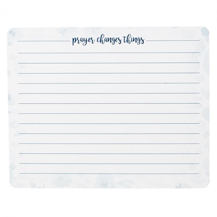 Prayer card in tin - Prayer Changes Things
