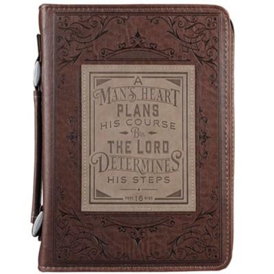 A mans heart plans his course [4]