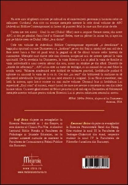 Adevaruri biblice contemporane -  Sinteze, schite, subiecte. Vol. 1-3 3