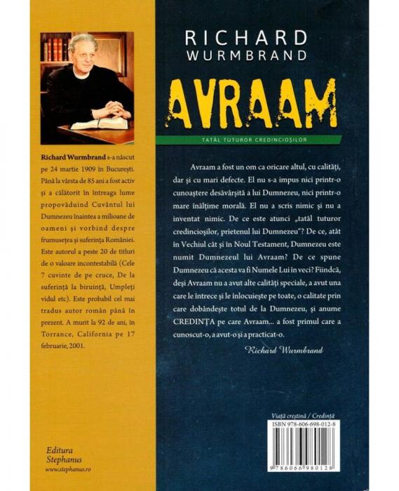 Avraam, tatal tuturor credinciosilor 1