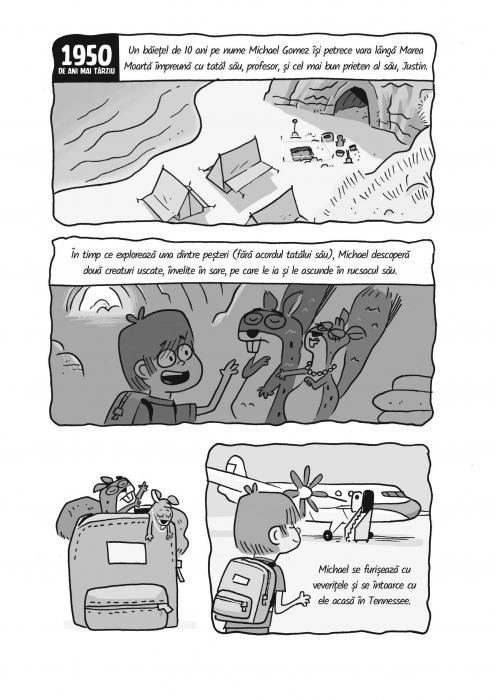 Baiatul intalneste veveritele - Veveritele de la Marea Moarta, vol. 2 3