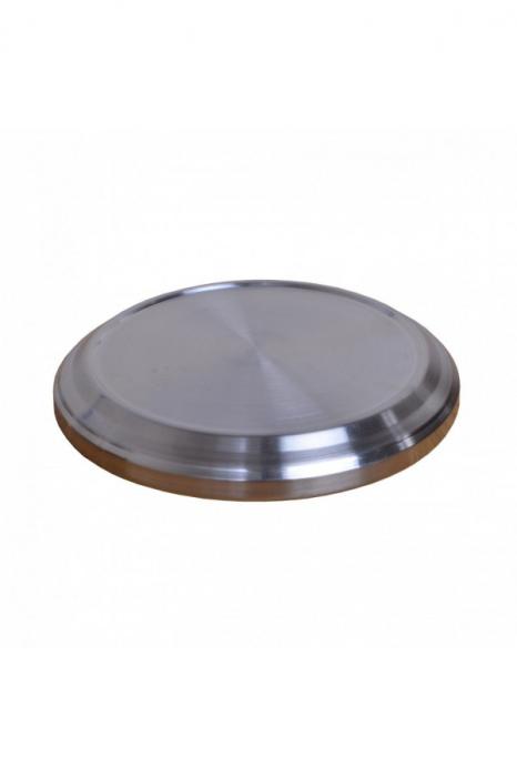 Baza pentru farfuriile cu paine - MODEL 1 - argintiu lucios [0]