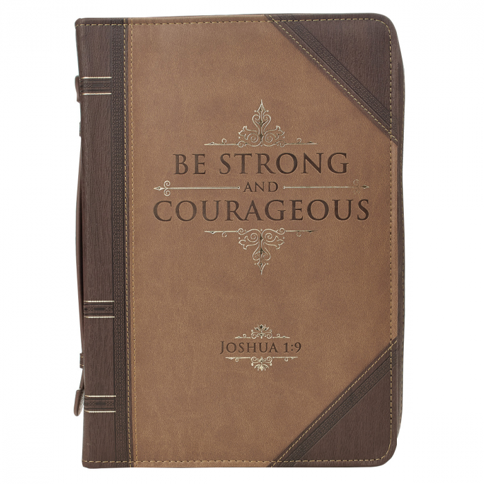 Be strong and courageous - Brown [1]