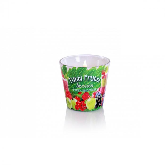 Lumanare aromatica - Tropical Berries 1
