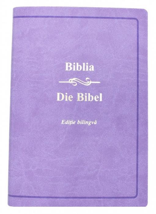 Biblia - editie bilingva romana-germana - mov [0]