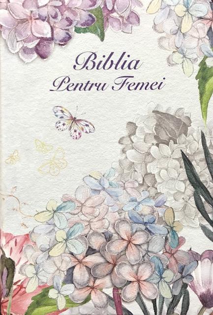 Biblia pentru femei model Floral mare 0