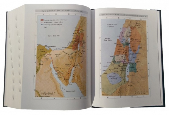 Biblia de studiu pentru o viata deplina (editie deLuxe, piele ecologica, gri & negru) 1