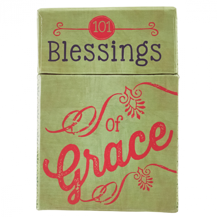Set carduri cu verset (limba engleza) - 101 Blessings of Grace