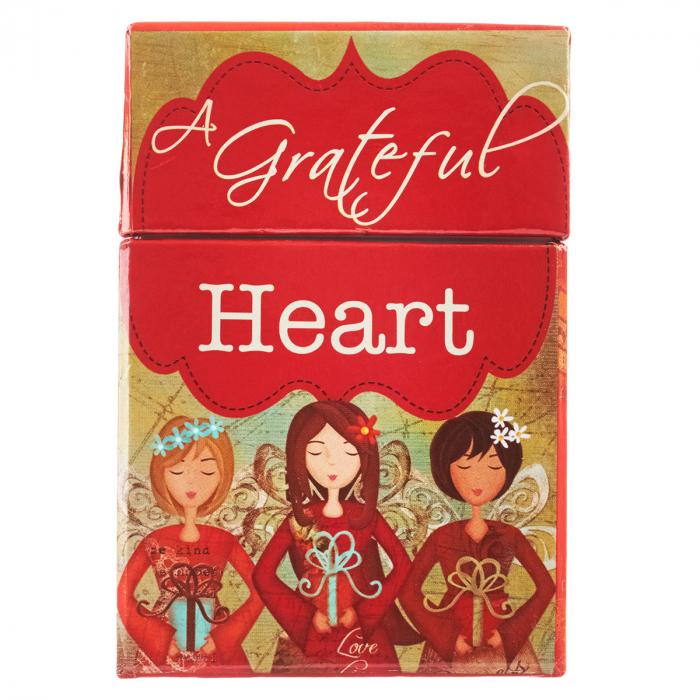 Set carduri cu verset (limba engleza) - Grateful Heart 0