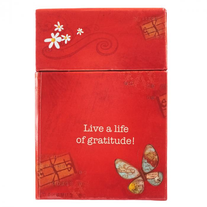 Set carduri cu verset (limba engleza) - Grateful Heart 1