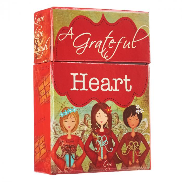 Set carduri cu verset (limba engleza) - Grateful Heart 2
