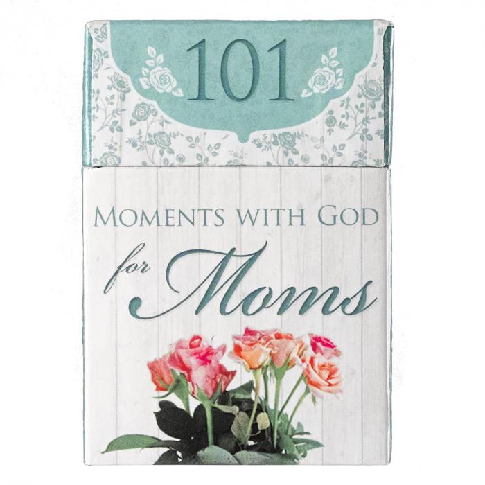 Set carduri cu verset (limba engleza) - 101 Moments with God for Moms 0