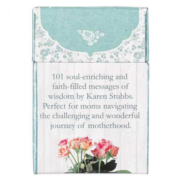 Set carduri cu verset (limba engleza) - 101 Moments with God for Moms 1