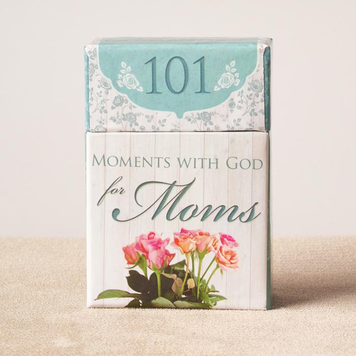 Set carduri cu verset (limba engleza) - 101 Moments with God for Moms [3]