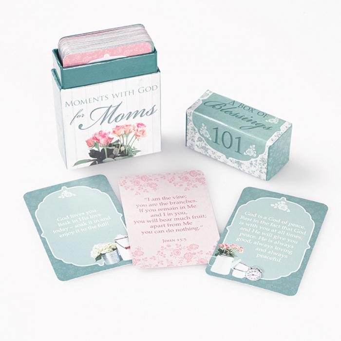 Set carduri cu verset (limba engleza) - 101 Moments with God for Moms [4]