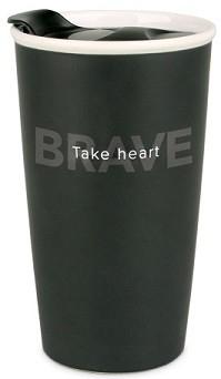 Cana termica din ceramica - Take Heart (Simple Truth) 0