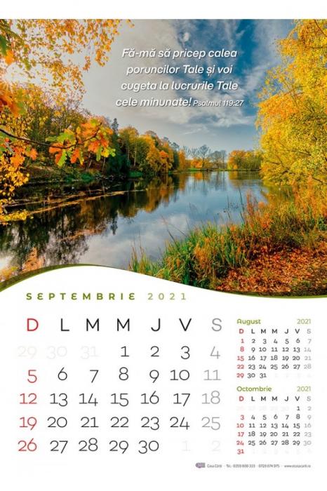 Calendar de perete 2021 - format mare A3 3