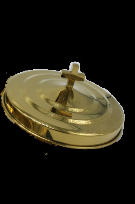 Capac pentru farfuria cu paine - MODEL 2 - auriu lucios 0