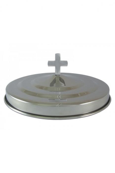 Capac pentru farfuria cu paine - MODEL 2 - argintiu lucios 0