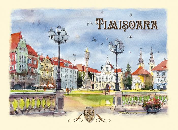 Carte postala Timisoara 2 0