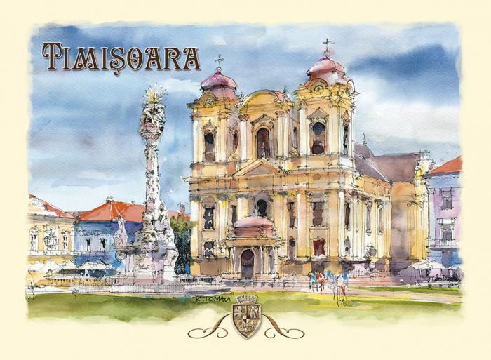 Carte postala Timisoara 3 0