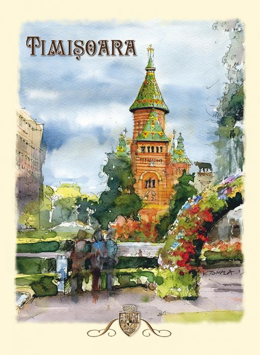 Carte postala Timisoara 4 0