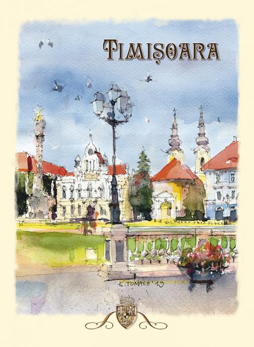 Carte postala Timisoara 5 0