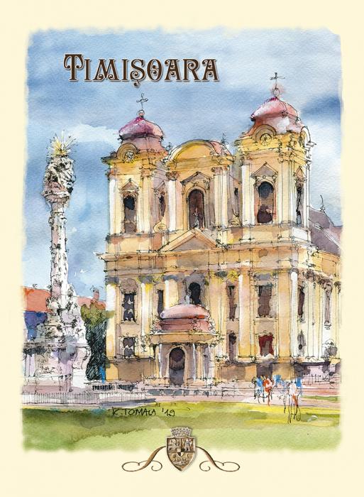 Carte postala Timisoara 6 0